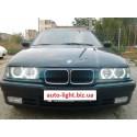 Светодиодные ангельские глазки (Aurora LED 4*120 SMD) BMW E36 E38 E39 E46