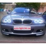 Светодиодные ангельские глазки (Aurora LED 4*120 SMD) BMW E46 Coupe купе