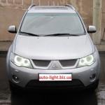 Светодиодные ангельские глазки (Aurora LED 528 SMD) Mitsubishi Outlander XL