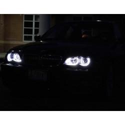 Светодиодные ангельские глазки (Aurora LED 4*66 SMD) BMW E36 E38 E39 E46