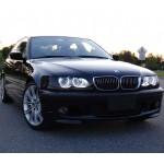 Светодиодные ангельские глазки (Aurora LED 4*78 SMD) BMW E46 Restyle