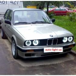 Светодиодные ангельские глазки (Aurora LED 4*90 SMD) BMW E30 E32 E34