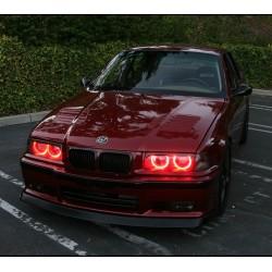 Светодиодные RGB ангельские глазки (Aurora LED Angel Eyes) BMW E36 E38 E39 E46