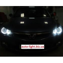 Ангельские глазки CCFL (angel eyes) Honda Civic 4D