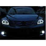 Ангельские глазки CCFL (angel eyes) Mazda 3