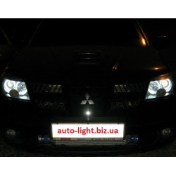 Ангельские глазки CCFL (angel eyes) Mitsubishi Outlander