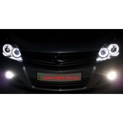 Ангельские глазки CCFL (angel eyes) Opel Astra H