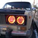 Ангельские глазки CCFL ВАЗ 2106 (angel eyes VAZ 2106)