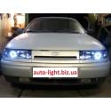 Ангельские глазки CCFL (angel eyes) Lada 2110 Kirzhach (ВАЗ 2110 Киржач)
