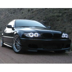 Матовые ангельские глазки (Cotton LED) BMW E46 Coupe