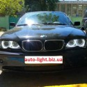 Матовые ангельские глазки (Cotton LED) BMW E46 Restyle