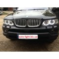 Матовые ангельские глазки (Cotton LED) BMW E53 X5 Restyle