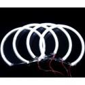 Матовые ангельские глазки (Cotton LED) BMW E53 X5