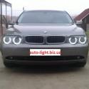 Матовые ангельские глазки (Cotton LED) BMW E65 E66