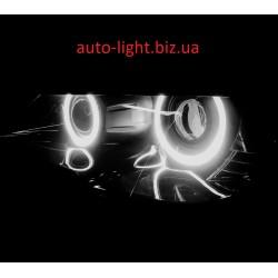 Матовые ангельские глазки (Cotton LED) BMW E70 E71 X5 X6