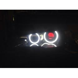 Матовые ангельские глазки (Cotton LED) BMW E70 X5 Restyle