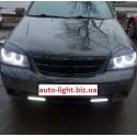 Матовые ангельские глазки (Cotton LED) Chevrolet Lacetti