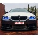 Матовые многоцветные ангельские глазки (Cotton RGB LED) BMW E46 Coupe