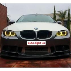 Матовые многоцветные ангельские глазки (Cotton RGB LED) BMW E90
