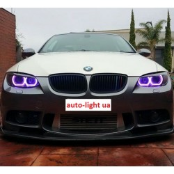 Матовые многоцветные ангельские глазки (Cotton RGB LED) BMW E83 X3