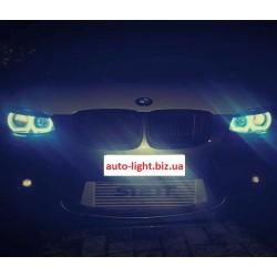Матовые многоцветные ангельские глазки (Cotton RGB LED) BMW E70 E71 X5 X6