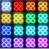 Матовые многоцветные ангельские глазки (Cotton RGB LED) Chevrolet Lacetti