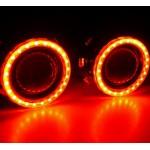 """Светодиодные RGB ангельские глазки (RGB LED Angel Eyes) для биксеноновых линз 2.5"""""""