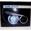 Биксеноновые линзы Galaxy G5 (2.5 дюйма) с ангельскими глазками