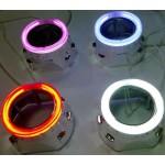 CCFL цветные ангельские глазки (CCFL Angel Eyes) для биксеноновых линз 2 шт.
