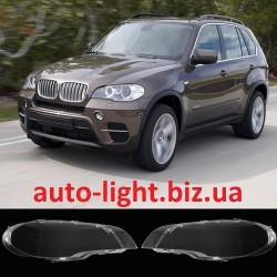 Стекла фар BMW E70 X5