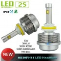 Светодиодные автолампы H11 H8 Led 2s ETI chip (up to 30W 3600lm)